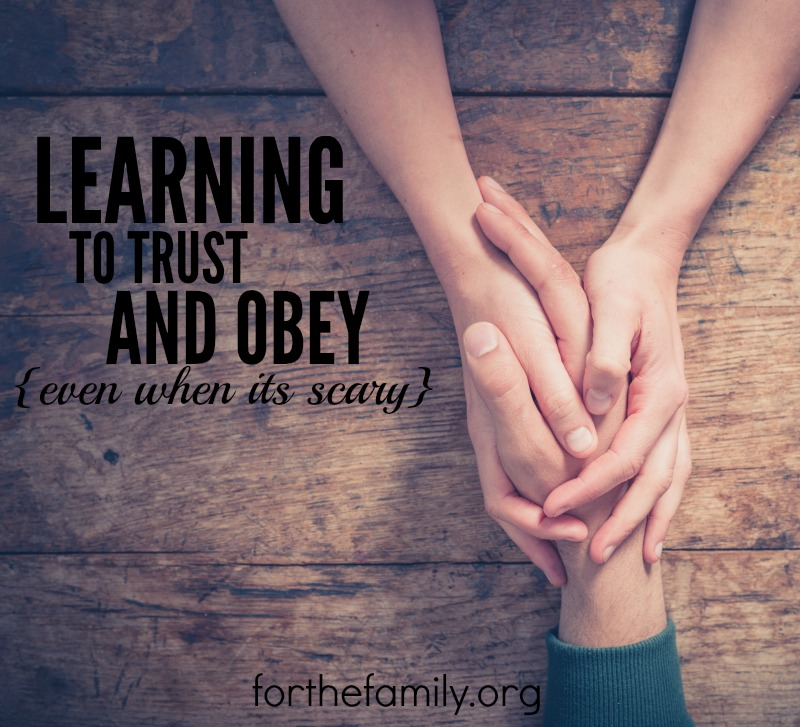 How can we share the love and good news of Jesus with others? And how do we teach our children to do the same? Often times, it means going out of our comfort zone and learning how to trust and obey God's gentle leading.