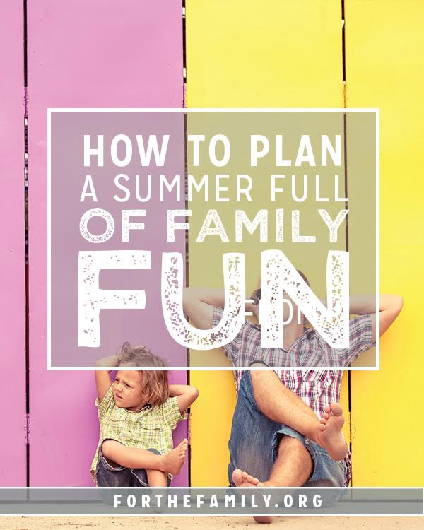 Do you feel pressure to make this THE best summer ever? Sometimes the expectation to make things perfect can take away all our joy in the process Here's what you actually need to have a summer of family fun this season.