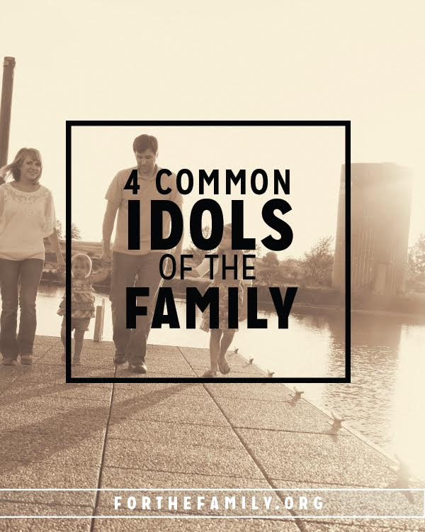 Does your family worship idols? Our modern culture subtly infuses idols into our families in such a way that we are often unaware that we are serving one! Let's look together at some of the most common idols challenging families today so that we can repent and worship our God wholly.