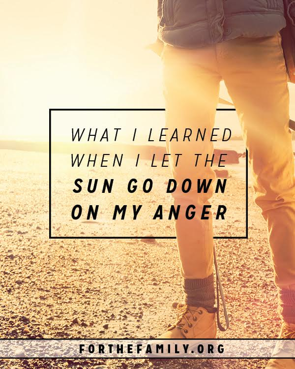 What I Learned When The Sun Went Down On My Anger