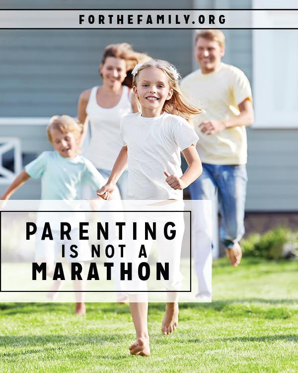 "I think as a father, I'd like my role to come with more certainties. I often want the ""problems"" of parenting to ""go away""… but the race continues on. Will I have the courage to slow down and take small little steps when that is what is required?"