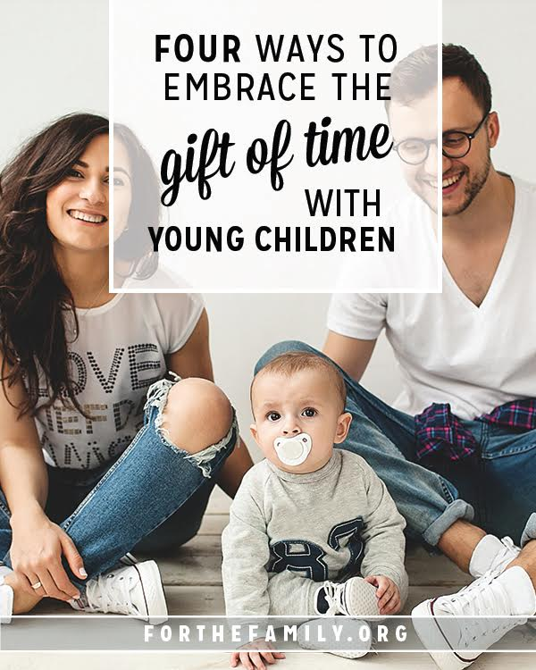 When our children are small, the days fly by, and yet, are some of the most difficult we will encounter as parents. How can we mark the passage of time well and celebrate the milestones as they grow? Keeping these principles in mind will help us lean in and soak up the early years fully!