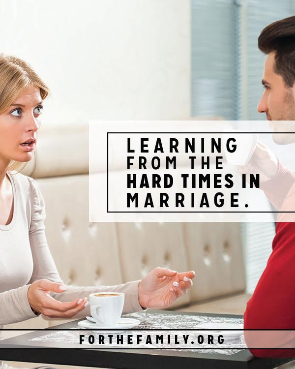 Most of us would like to avoid challenges in our marriages, yet they can be just the thing to grow us, and strengthen our relationship. Do you know how to reap the blessing of difficult times?