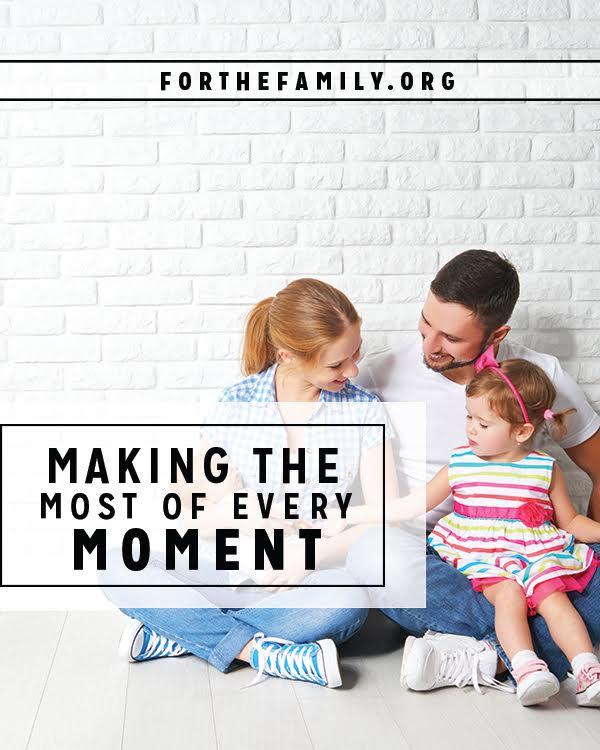 Are you living in the moment? Even the smallest ones matter. Here's a perspective from God's word that will dramatically shift how you see, and spend, each day.