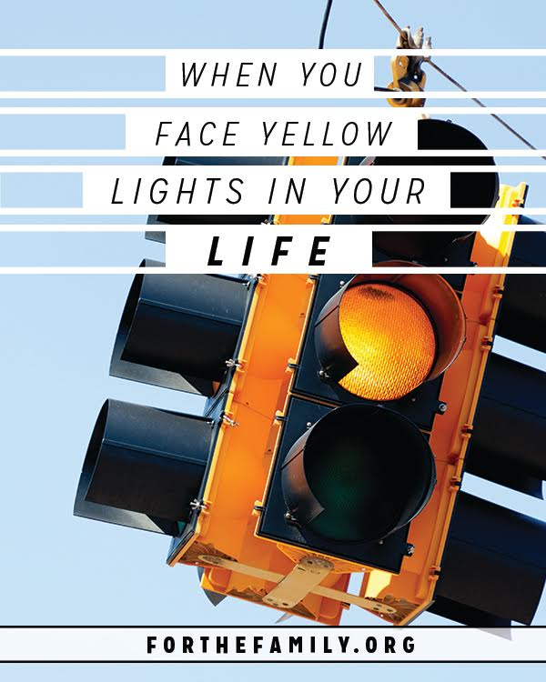 Are there yellow lights flashing in your life today, signs that you need to slow down? Often times, we miss the signs and just keep blazing through our days, but today, let's consider the blessing of going slow and it's necessity in our lives.