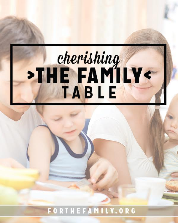 Coming around the table as a family can feel like an impossible feat, and yet, when we cultivate the practice of time spent around the table, we reap incredible blessings as a family. There is a way to gather together with intention in your home!