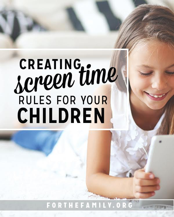 Is screen time taking over your house? Technology is here to stay, and as parents, it's our job to help our kids navigate it responsibly. Check out our ideas for setting guidelines that work.