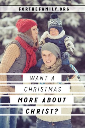 Want a Christmas More About Christ? {4 Questions You Must Ask}