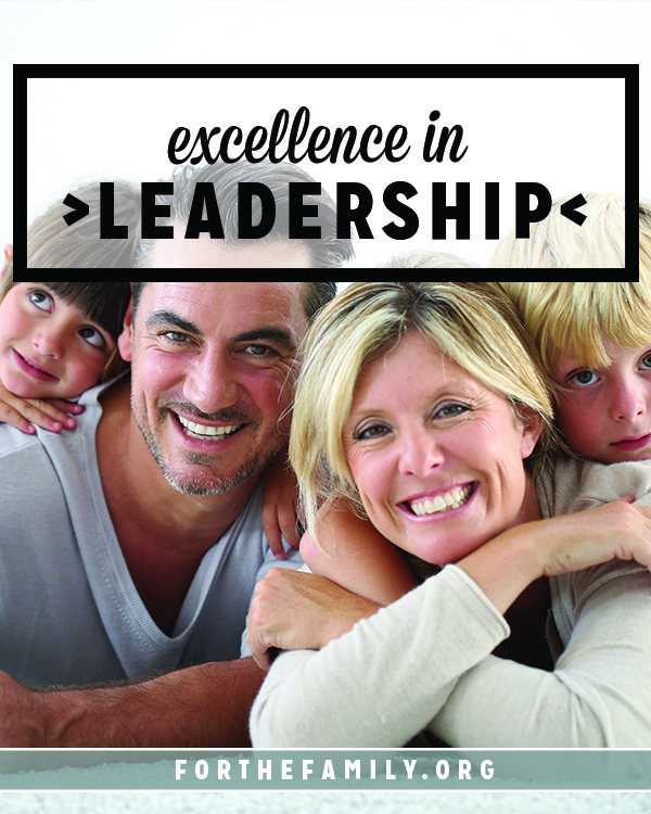 When we are leading, whether in ministry or in our families, we won't ever get instant gratification. Most of our opportunities to lead and serve require hard work, but we can learn to  be patient and pursue excellence in our roles- in fact, we must.