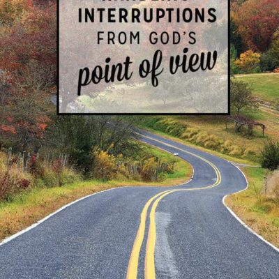 Handling Interruptions from God's Point of View