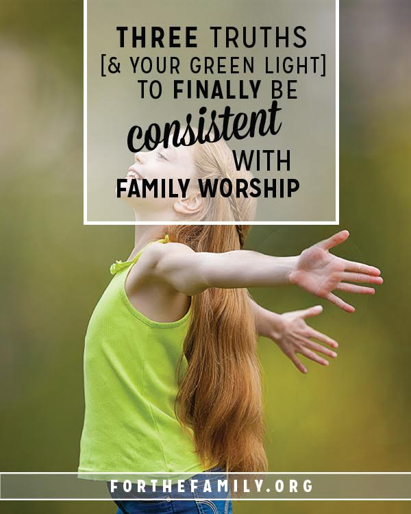 Do you dream of beginning to worship as a family at home and have no idea how to begin? Devotional time together is much less complicated than you realize. Consider this your jump start!!