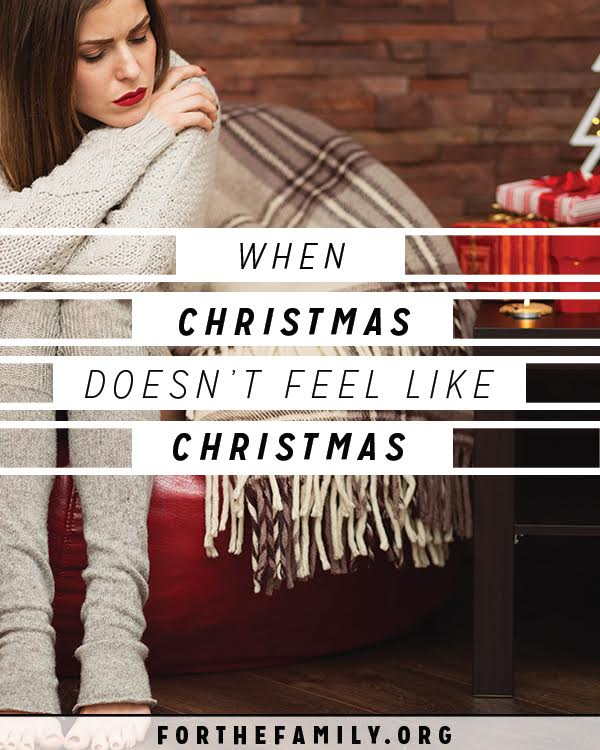 Christmas seems so magical! Except when it doesn't. If you're struggling to muster emotions that are merry, don't forget that a true Christmas comes with the wonder of heaven no matter how you feel.