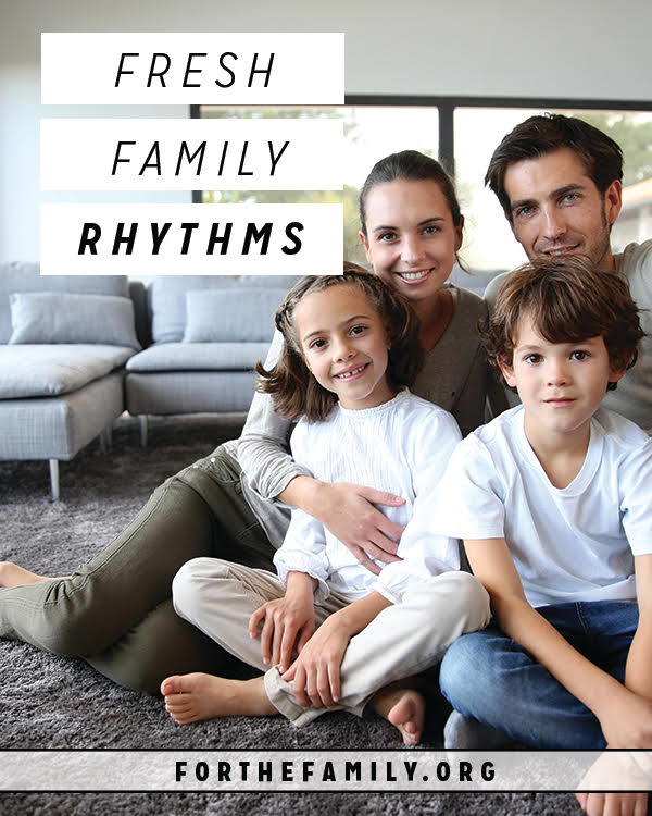 The new year brings quieter days and lots of indoor time to our homes. Consider a few of these fresh family rhythms to add glow, cheer and creativity to your family!