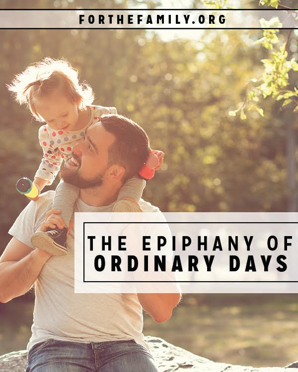 As the new year begins, let's be on the lookout for epiphanies. Revelations and realizations are all around us, if we'll only pay attention in ordinary days. What does God want to say to you?
