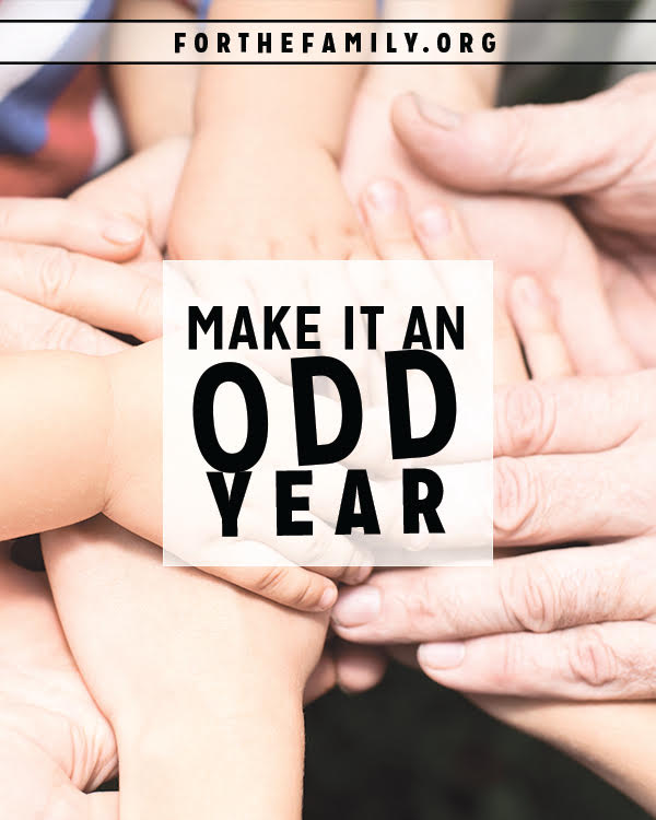 Do you think Christians are a little off? A little odd? Maybe that's not such a bad thing....in fact, maybe its exactly what we were made for. Today, consider how being odd to the rest of the world might be the very best thing for your family.