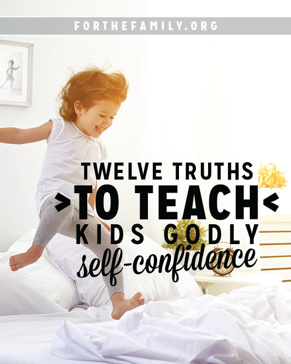 Self awareness, confidence, and personality are all emerging in your child's life. The 12 truths will give them a sense of worth in God alone, to carry with them and help to shape their lives.