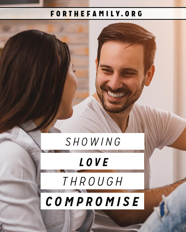 It's hard to give a little, to let go... to compromise. Yet every marriage requires it! Today, learn what's at the root of this essential type of communication and service.