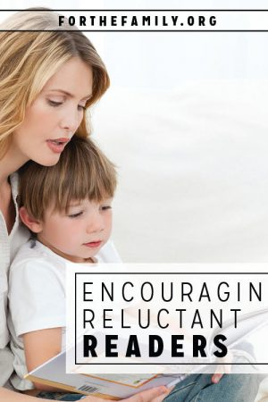Encouraging Reluctant Readers