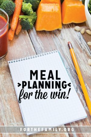 Meal Planning for the Win!