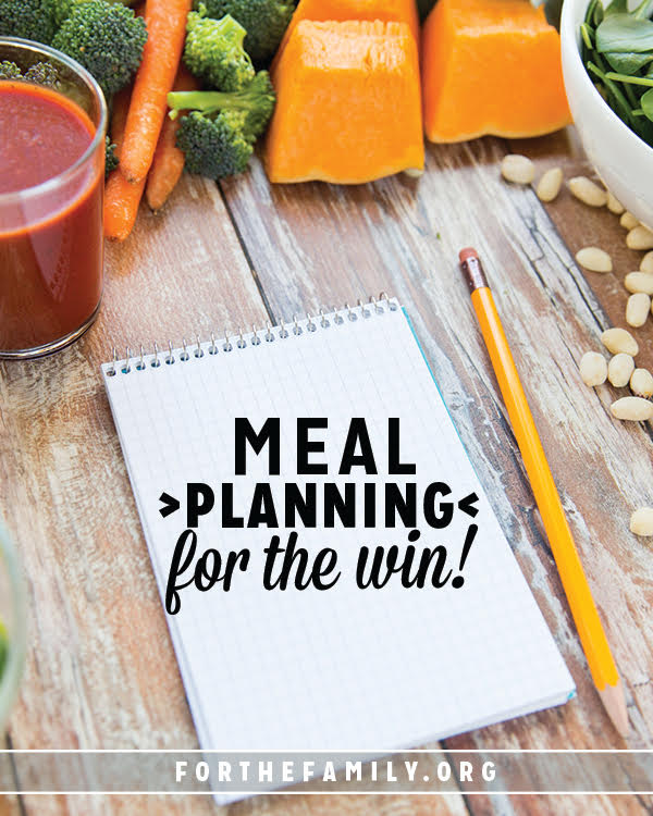 We all need to eat. However, feeding our families is sometimes easier said than done. You need a plan and these ideas are here to help you come to the table refreshed and ready to enjoy meals as a family.