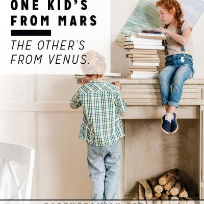 When One Kid's from Mars, the Other's from Venus