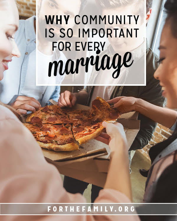 Is your marriage one of isolation? We all have a tendency to go it alone, but we need eachother! If you aren't living life surrounded by other couples you might be missing out on some of the greatest gifts God intended for your marriage. Don't miss these gifts of community.