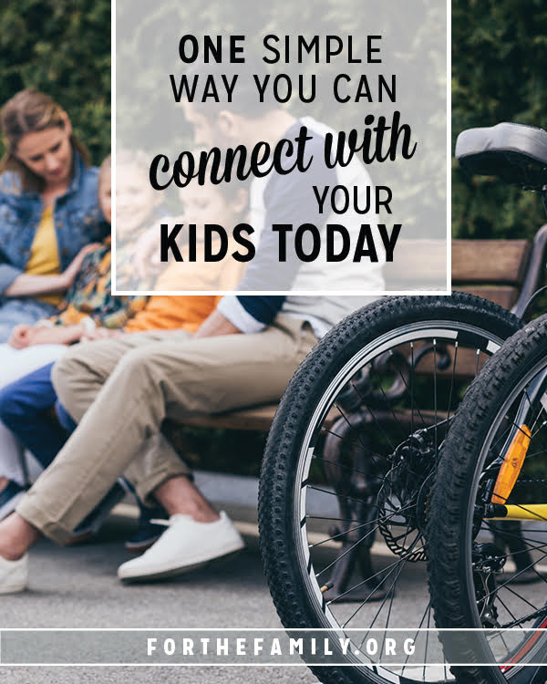 Would you believe it if we told you there is one thing we are guaranteed your children want from you? It can change their behavior, the environment of your home, and ultimately, the hearts of each member of your family. Cultivate connection today with this one simple method!