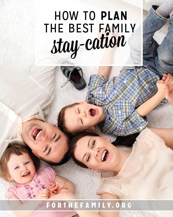 """Where are you going on vacation this summer/""""? Next time you're asked this question, get ready to say """"home"""" with a huge grin! This is your roadmap to a perfect stay-cation right where you live."""