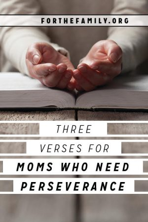 3 Verses for Moms Who Need Perseverance