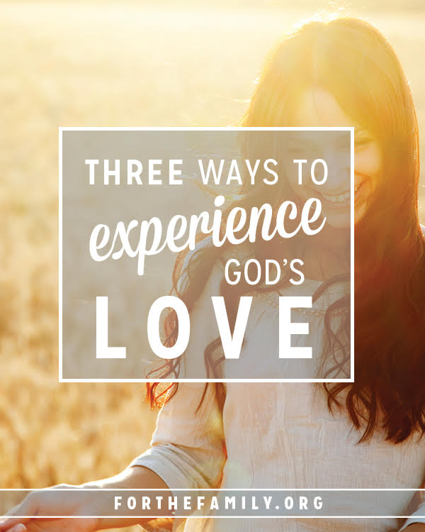 Do you know the love of God? It's is transforming! It also compels our love for others. Here are three ways to walk in the love God pours out so you can offer it to those around you today.
