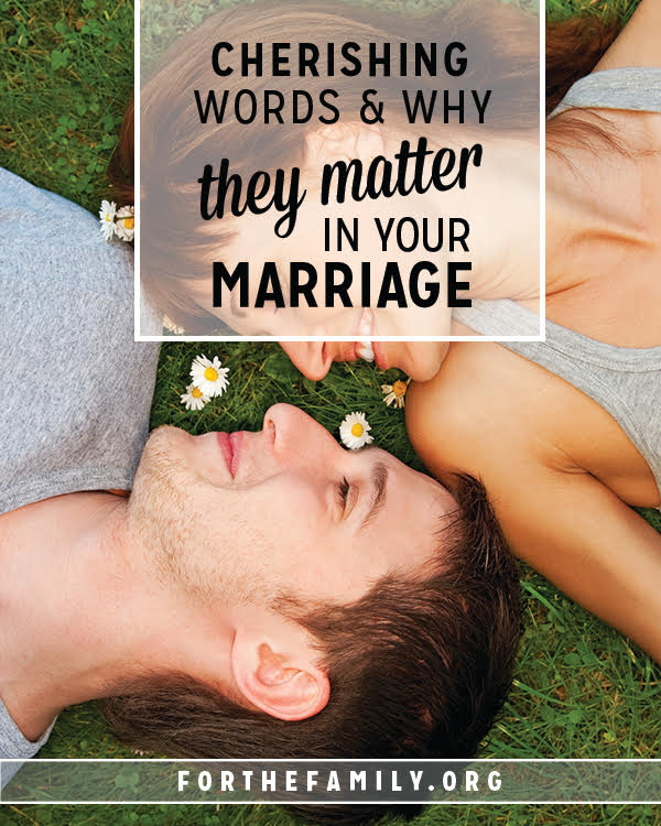 Is your voice toward your spouse affirming? Do you cherish them when you speak? Let's go deeper than what we say and pay attention to the heart behind words. Because our words do matter, and we can infuse them with life!
