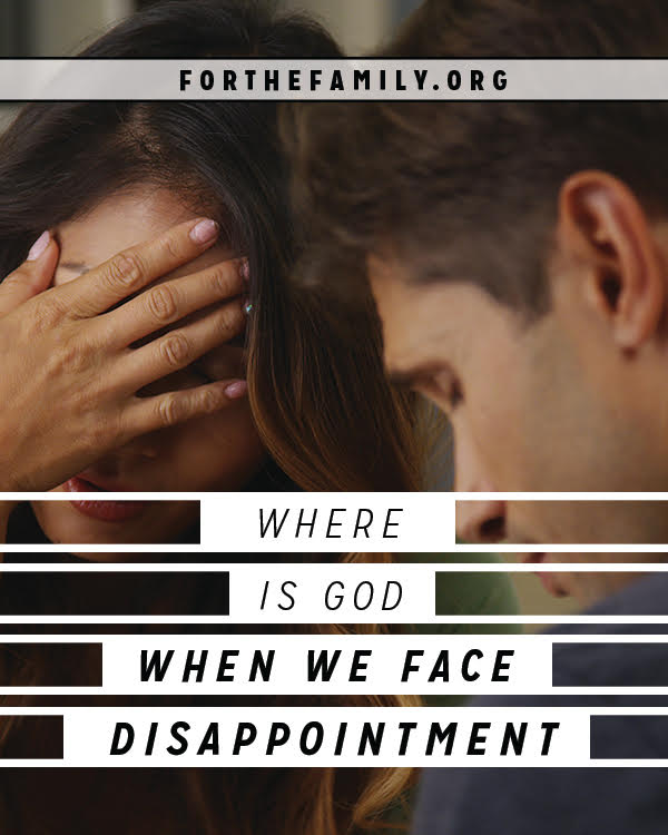 Disappointment is rough at any age, but for our kids, it can often feel more like devastation. How do we help them hold fast to their faith when all their plans fall apart? First, we must remember how to trust in his plans for ourselves.