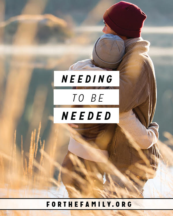 Does your spouse need you? We all want to be needed, and if we feel like we're not, we won't feel cherished. Take some time with us today to evaluate the health of your marriage and learn how to grow in the way you honor and cherish one another.