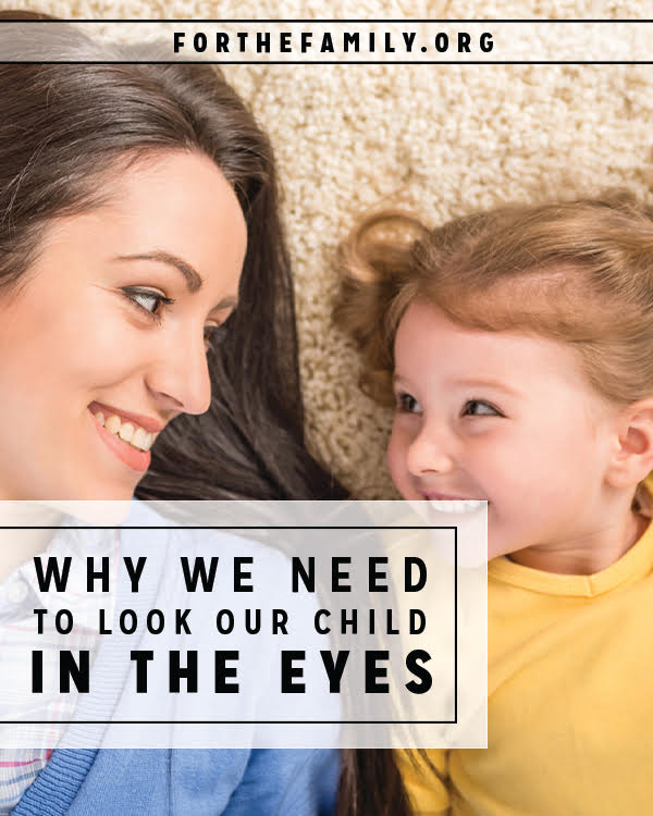 Have you seen what is stirring in your children's soul? Really seen them? Their eyes are windows to their heart, to their emotions and personal struggles... to their joy. Parents, we must pay attention. Today, put down your phone and look, (really look!) in to the eyes of your dear ones.