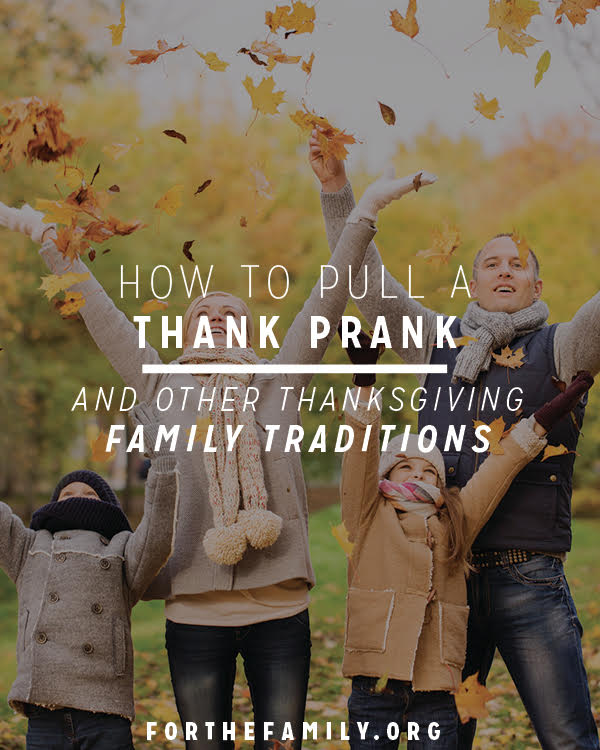 Thanksgiving is on the horizon! It's a great time to focus on what God has done in your family and your life, personally, throughout the year. Here are some amazing traditions you can include into your Thanksgiving season this year!