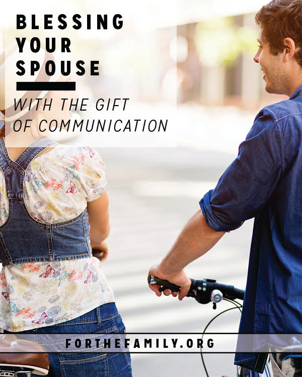 Do you talk to your spouse about everything? One gift you can give each other is a commitment to always strengthen and grow your marriage... and communication is a big part of that! Come learn how to bless with your words and willingness to work things out.