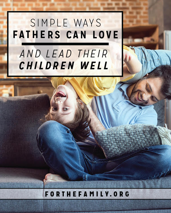 Fathers, do you know how to answer the Bible's call as a parent? Being a dad in our culture is tough! Soak up this encouragement and truth to help invest at home.