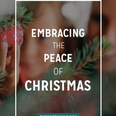 Embracing the Peace of Christmas
