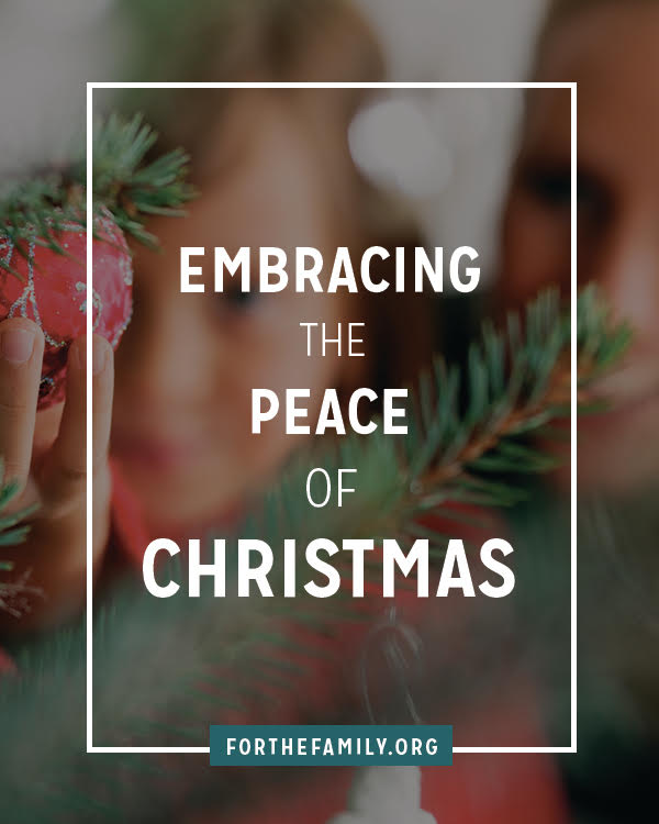 The bustle of Christmas is palpable, but the peace? It can seem hard to find. This season, slow to embrace the gifts God is giving, and consider the miracle of how he came.