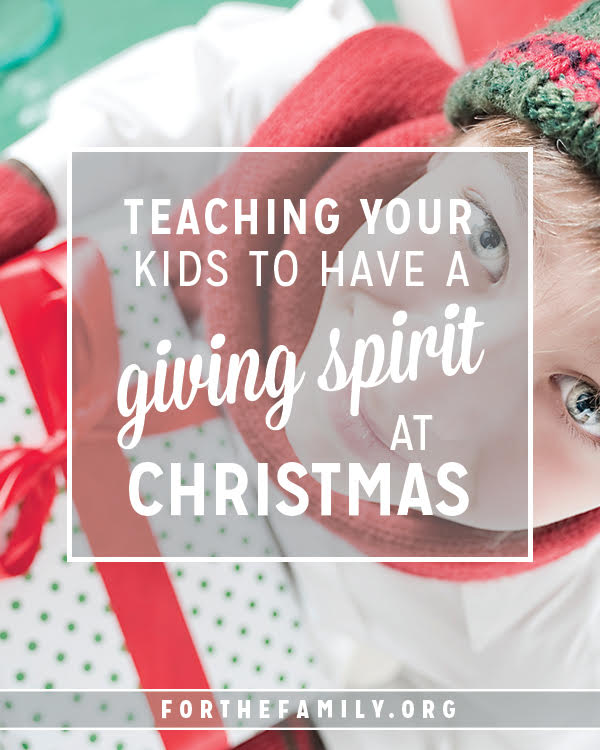 'Tis the season for holiday cheer... and a time when our children can get focused on what they will find under the Christmas tree. This year, lets help them develop a heart for giving and an anticipation for bringing delight to others.