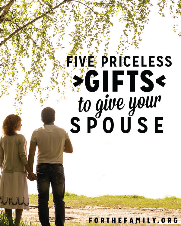 Priceless Gifts to Give Your Spouse