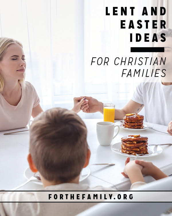 How will your family prepare for Easter? Leaning into the Lenten season can be meaningful, even if you've never done it before! Come and learn what it's all about and how you can prepare your heart to celebrate Christ's great love for us as a family.