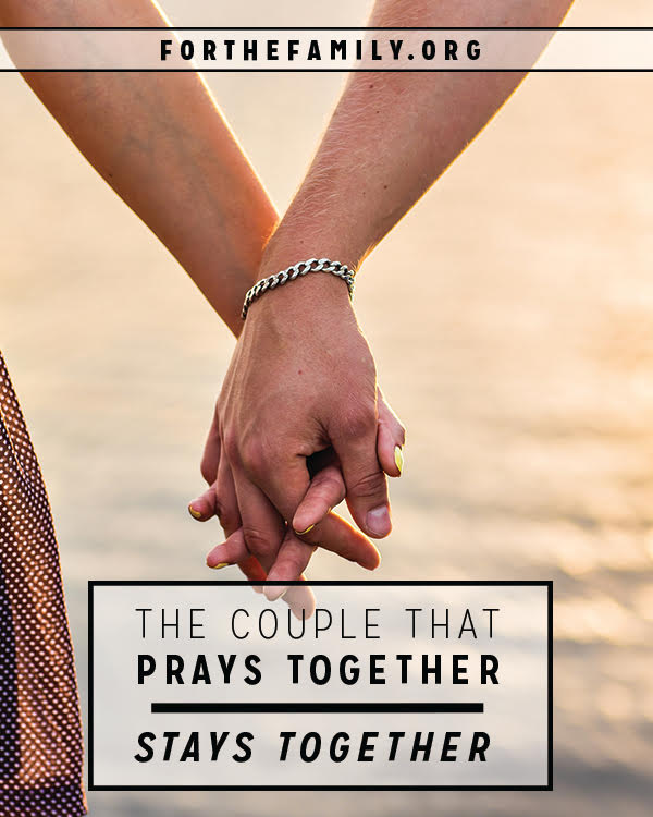 Do you pray as a couple? Prayer with your spouse is one way to grow together in affection, intimacy and unity. There are so many blessings to be had by beginning this practice together, but there are obstacles to getting started. We're here to help you begin today!