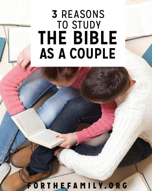 Do you study the Bible with your spouse? Reading the word together can have a significant impact on your marriage. Here's why it matters, and how to begin!