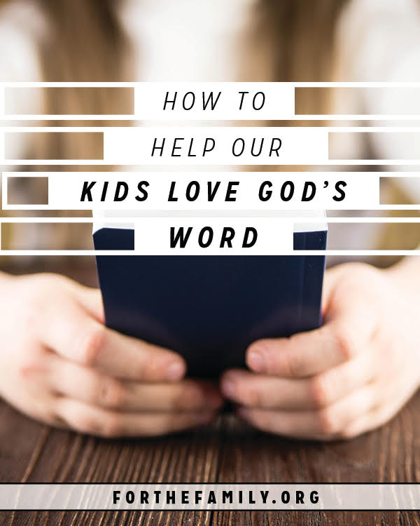Oh how we long for our children to delight in the Bible! Do your kids love God's word? How can we help them start? Don't miss our plan!