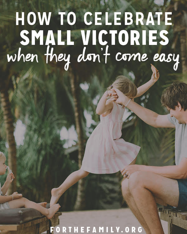 How does your family celebrate ordinary milestones? Early victories set the stage for all the mountains yet to climb. Take notice and relish in the simple wonder of them today!