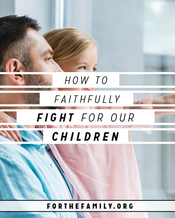 Living in a broken world that targets our children's bodies and minds, we too have a choice to make: Do we trust only what we can understand, or do we trust God? Let's fight for our children with fierce faith- and point them to the One who heals as we do!