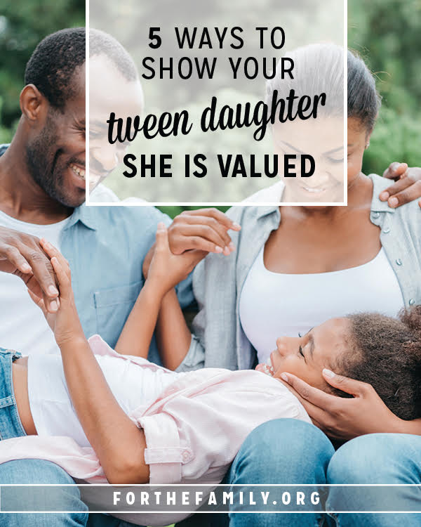 Does your daughter know just how important she is? As our girls grow, we need to communicate love and affection with them in new ways. Here are a few words and ideas to whisper truth and love directly into your girl's heart.