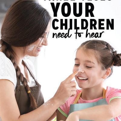 Three Yeses Your Children Need To Hear