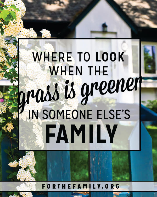 Do you struggle with comparison? With waiting, and  perhaps becoming discouraged while everyone else's hopes seem to be realized. When the grass looks greener in everyone else's lawn, what can a Christian family practically do to ease the ache? Join us today for some much needed encouragement about how God meets you wherever you are.